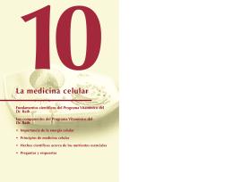La medicina celular