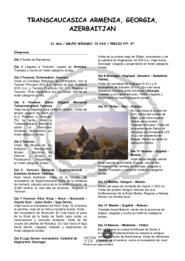 Transcaucasica Armenia, Georgia, Azerbaijan