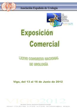 Vigo, del 13 al 16 de Junio de 2012