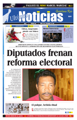 Chivas, inoperante - Ultimas Noticias Quintana Roo