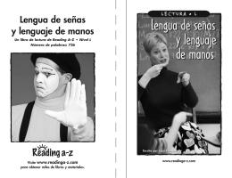 Lengua de señas y lenguaje de manos J