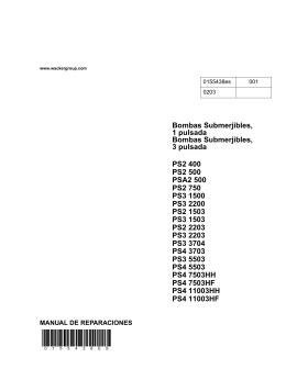 PS2 500, PSA2 500 Datos técnicos