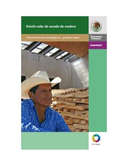 Manual para la construcción de la estufa solar de secado de madera