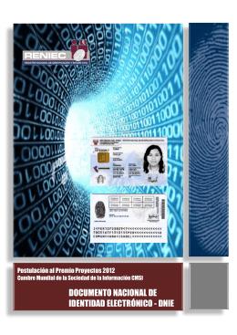 documento nacional de identidad electronico dnie