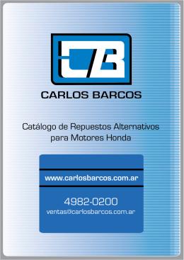 REPUESTOS HONDA - Carlos Barcos • Repuestos para maquinas