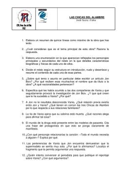 LAS CHICAS DEL ALAMBRE PDF