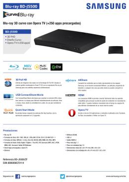 Blu-ray BD-J5500