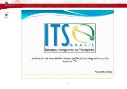 La situacion de la mobilidad urbana en Brasil y la