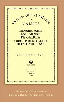 Versión dixital - Camara Oficial Minera de Galicia