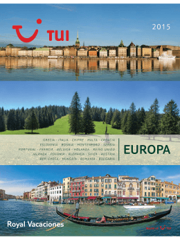 EUROPA - nuestras mejores ofertas con nuestro colaborador