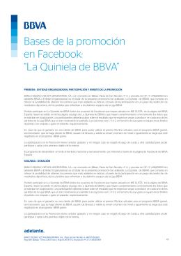 La Quiniela BBVA Game