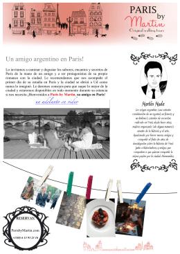 Paris by Martin folleto ESP 2013N