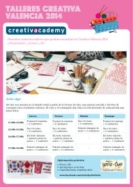 talleres creativa VALENCIA 2014