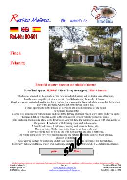 Rustica Mallorca... the website for