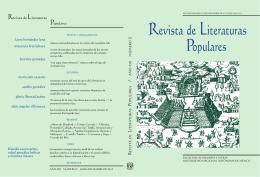 Revista de Literaturas Populares - Repositorio de la Facultad de