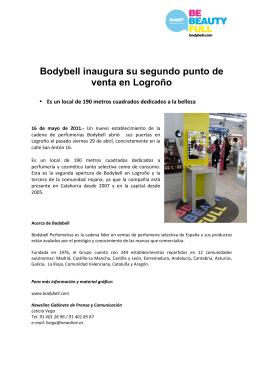 Bodybell inaugura su segundo punto de venta en Logroño