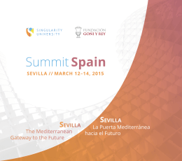 programa - Singularity Summit Spain