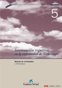 Intervención cognitiva en la enfermedad de Alzheimer