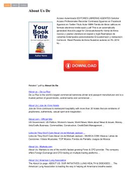About Us De - Bücher Medizin & Pharmazie
