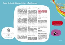 Salud de las lesbianas: Mitos y Realidades