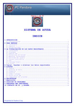 Manual de instrucciones en español