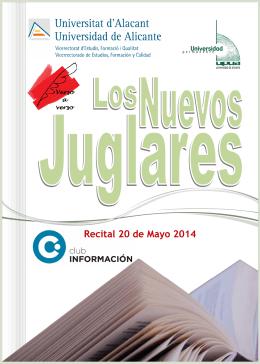 Recital 20 de Mayo 2014