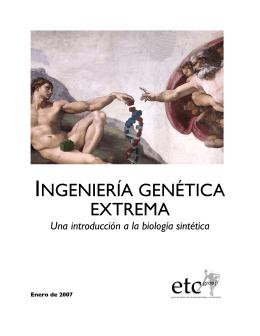 Ingeniería genética extrema: una introducción a la