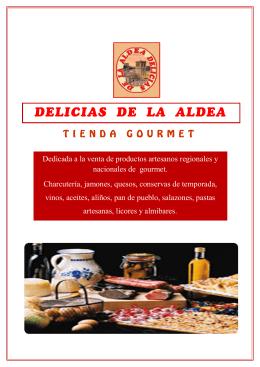Dedicada a la venta de productos artesanos regionales y
