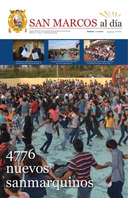 SAN MARCOS al día - Universidad Nacional Mayor de San Marcos