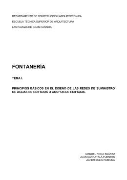 FONTANERÍA - Editorial de Construcción