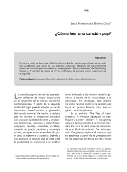 revista fuentes humanísticas 42.indb
