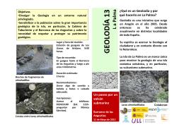 GEOLODÍA 13 - Sociedad Geológica de España