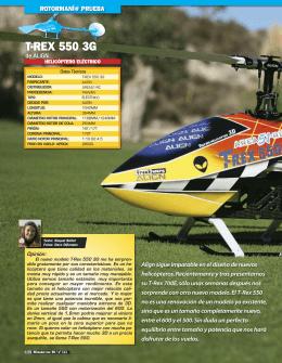 T-REX 550 3G