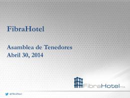 GDI Estructuración de una Fibra Hotelera