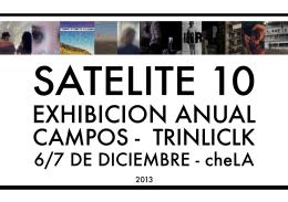 Catálogo de Satélite 10 - Cátedra Campos Trilnick