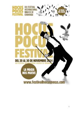 programa 2014 - Hocus Pocus Festival