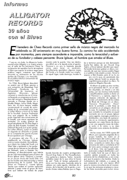 21. Alligator records. 30 años con el blues