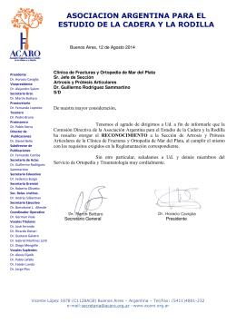 asociacion a estudio de la asociacion argentina para el estudio de