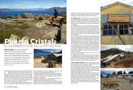 Para Ti – Puerto Cristal: El Humberstone de la Patagonia