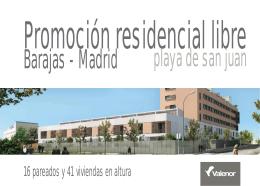Catalogo Residencial Playa de san Juan_V.memoria de