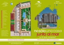 memoria de calidades y plano de urbanización www