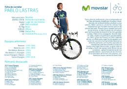 PABLO LASTRAS - Movistar Team