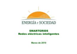Smart grids - Energía y Sociedad
