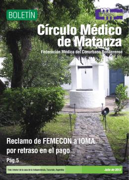 Julio - Círculo Médico de Matanza