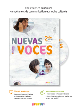 nuev as voces