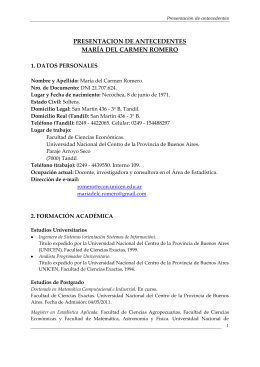 centro investigacion ambiente argentina unicen
