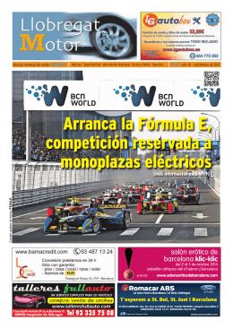Septiembre 2014 - Llobregat Motor