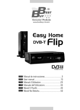 Manual Easy Home DVB-T Flip
