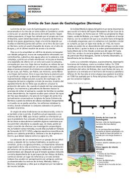 Ermita de San Juan de Gaztelugatxe (Bermeo)