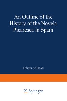 novela picaresca in spain